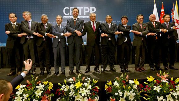 El  Tratado Integral y Progresista de Asociación Transpacífico (CPTPP) fue firmado en marzo por Australia, Brunéi, Canadá, Chile, Japón, Malasia, México, Nueva Zelanda, Perú, Singapur y Vietnam. (Foto: AP)