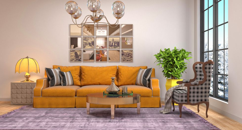 Ponte a pensar si tus muebles están colocados de una manera funcional. Esto quiere decir que puedes caminar sin obstáculos. (Foto: Shutterstock)