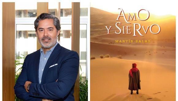 Martín Salas es autor del libro  'Amo y Siervo'.