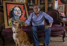 """Artista Bruno Portuguez: """"Trato de pintar el espíritu peruano""""   ENTREVISTA"""