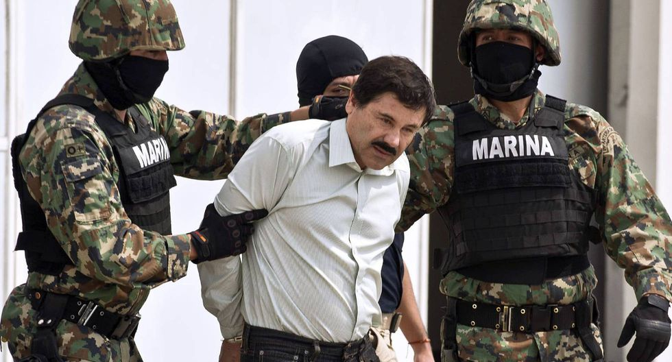 El Chapo Guzmán es condenado a cadena perpetua más 30 años por Estados Unidos. Foto: Archivo de AFP