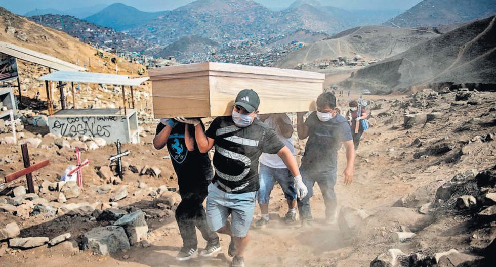 Hasta ayer había 5.162 fallecidos por el COVID-19. En la pandemia, también aumentaron las muertes por otros males. (Foto: AFP)