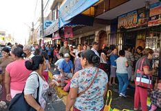 Áncash: vecinos de Chimbote abarrotaron mercados en pleno estado de emergencia   FOTOS