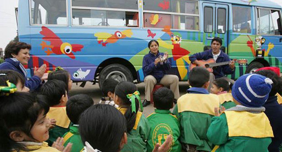 El Minedu planea que al 2021 el 90% de niños de 3 a 5 años de edad asista a escuelas de nivel inicial.
