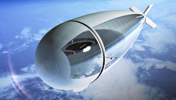 Un dirigible estratosférico podría sustituir a los satélites