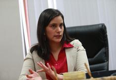 """Verónika Mendoza consideró necesario impulsar """"verdadera reforma policial"""""""