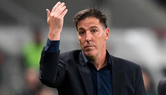 Eduardo Berizzo, técnico de Paraguay, busca su clasificación a los cuartos de final de la Copa América. /AFP
