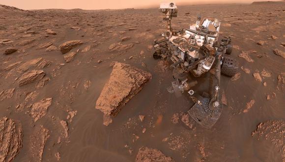 En la imagen Curiosity avanza en el duro terreno de Marte. (Foto: NASA/JPL-Caltech)