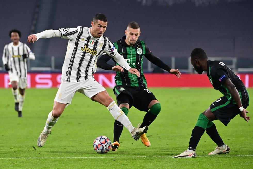 Juventus vs. Ferencváros: mejores imágenes del partido por Champions League. (Foto: AFP)