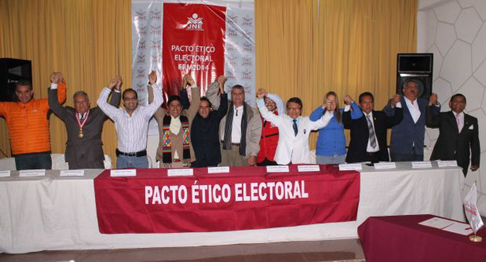 Callao: Félix Moreno no firmó el Pacto Ético Electoral