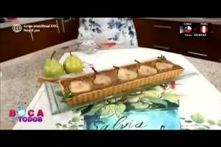 Tres minutos de dulzura: aprenda a preparar tarta de pera