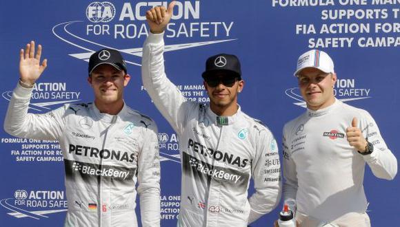 F1: Hamilton partirá primero mañana en el Gran Premio de Italia