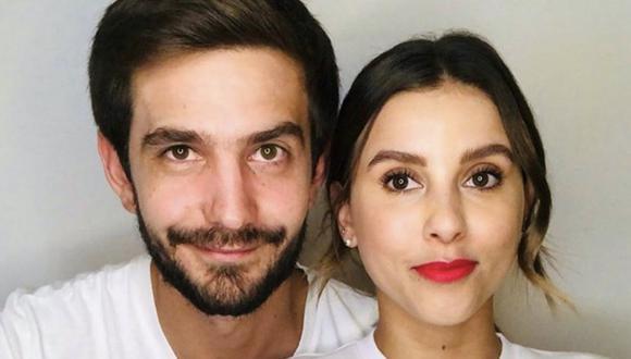 Paulina Goto y Rodrigo Saval muestran su amor en las redes sociales, aunque él es ajeno al mundo artístico (Foto: Instagram/Paulina Goto)