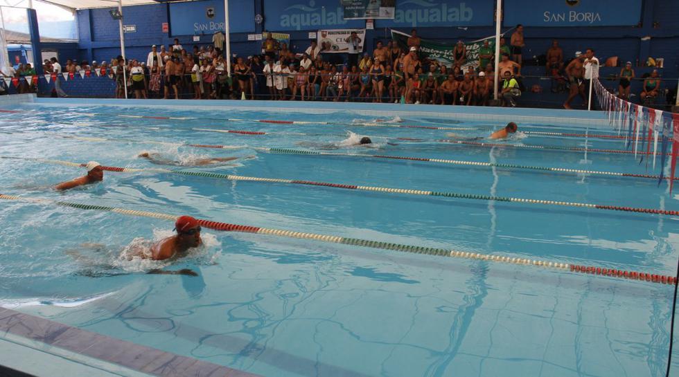 Natación y vejez saludable se juntaron en San Borja - 10