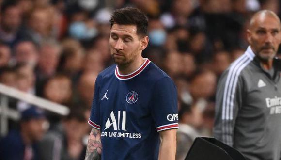 Una contusión ósea: la causa de la ausencia de Messi en el próximo partido del PSG. (Foto: AFP)