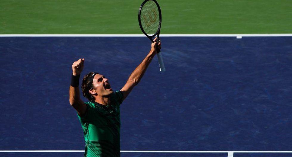 Federer se consagró otra vez en Indian Wells: fotos de la final - 9