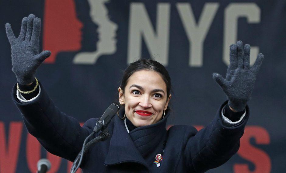 La joven se convirtió en la mujer congresista más joven en la historia del Congreso de Estados Unidos. (Foto: AP)