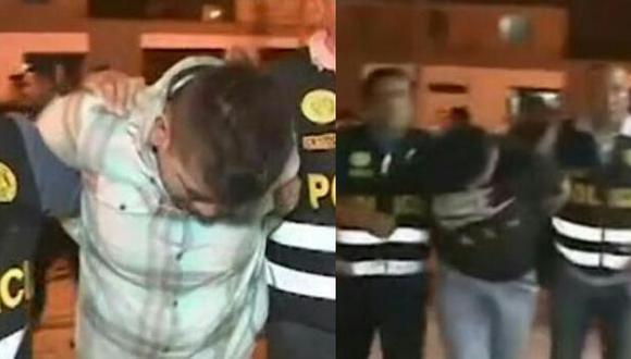 Los delincuentes le robaron sus pertenencias a una pareja bajo la modalidad de falso taxi (Foto: Captura América Noticias)