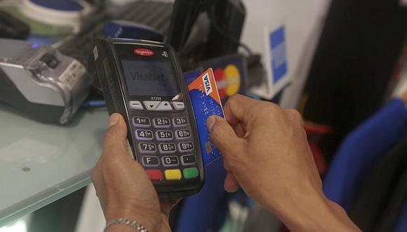 El valor de pagos con medios electrónicos alcanzó 127 mil millones de soles entre enero y junio.(Foto: USI)