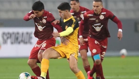 Universitario vs. Cantolao en el Estadio Nacional. (Foto: Liga 1)