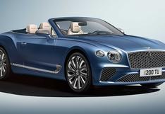 Bentley anuncia la versión más lujosa de un convertible   FOTOS