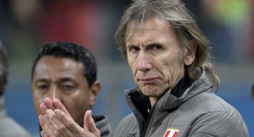 Ricardo Gareca se refirió a los actos de indisciplina de la última semana en el fútbol peruano. (Foto: AFP)