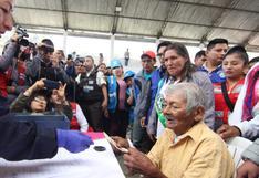 Huánuco: hombre de 119 años recibe por primera vez subvención de Pensión 65