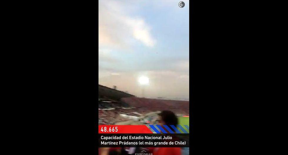 Snapchat vibró al ritmo del partido Chile vs. Argentina [FOTOS] - 4