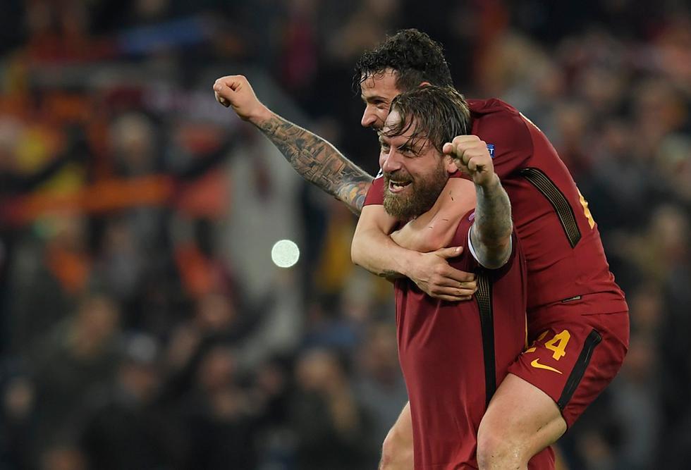 Un día como hoy, en 2018, la Roma eliminó de la Champions League al Barcelona tras revertir un 1-4   Foto: Reuters/AP/AFP/EFE