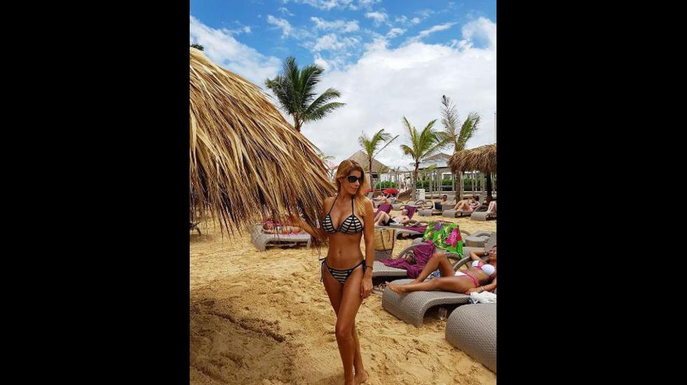 """El gran show"": Viviana Rivas Plata disfruta en Punta Cana - 3"
