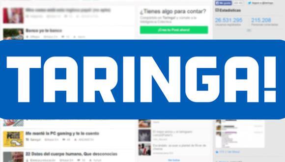 Así ocurrió: En el 2004 se crea la comunidad virtual Taringa!