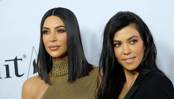 Kim Kardashian y su afectuoso saludo de cumpleaños a Kourtney tras pelea en televisión. (Foto: AFP)