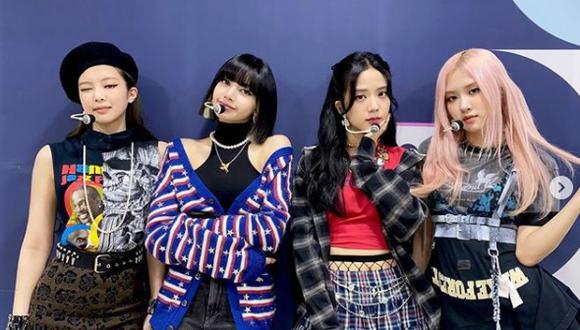 De izquierda a derecha Jisoo, Jennie, Rosé y Lisa; las cuatro integrantes de Blackpink. (Foto: Blackpink/ Instagram)
