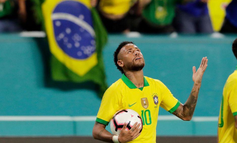 Neymar disputará un partido amistoso con Brasil frente a Perú | Foto: AP