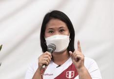 """Keiko Fujimori sobre caso de esterilizaciones forzadas: """"fue un plan de planificación familiar"""""""