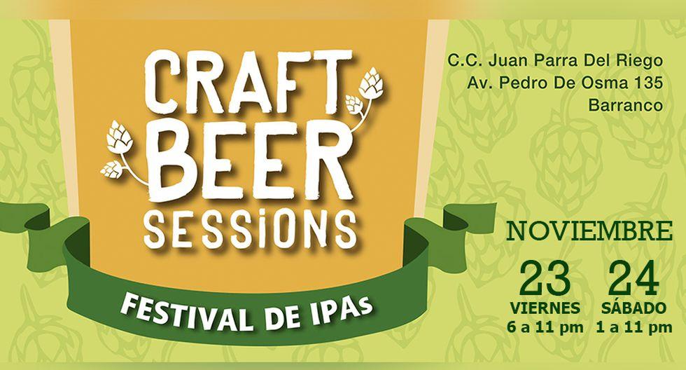 Craft Beer Session: Un festival dedicado a las cervezas artesanales IPAs