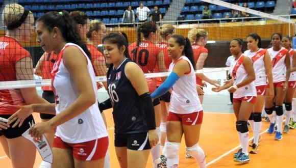 Vóley: Perú perdió ante Canadá en debut en Copa Panamericana