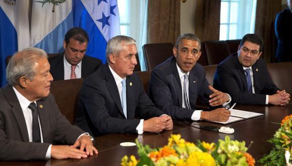 Obama pide ayuda a los presidentes centroamericanos