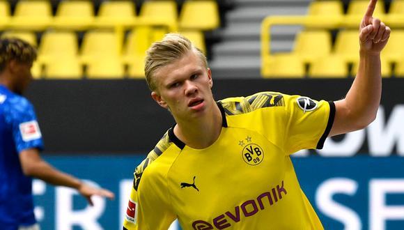 ¡Volvió con fuerza! Mira el golazo de Haaland en el regreso de la Bundesliga | Foto: AP/EFE/AFP/Reuters
