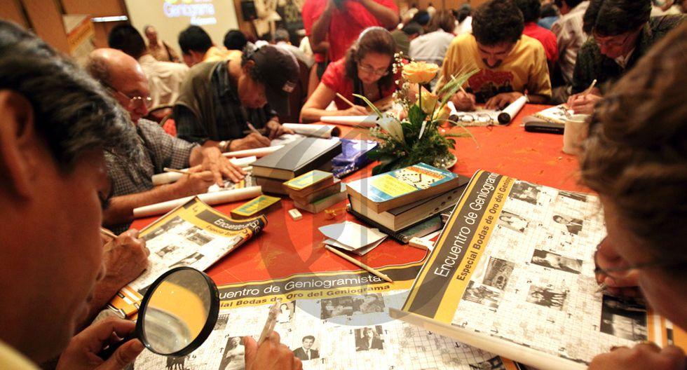 El Geniograma de El Comercio cumple 60 años. Durante la cuarentena, se publica todos los días.