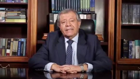 """Ángel Romero recordó que en todos """"los nombramientos que ha obtenido ha sido respetando los reglamentos propios de los concursos"""". (Foto: Twitter)"""