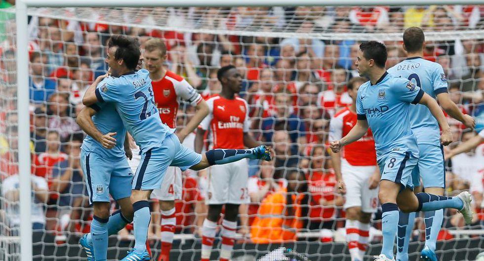 Las imágenes del partidazo entre Arsenal y Manchester City - 18