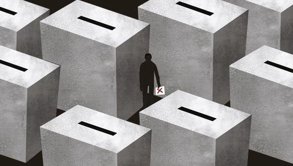 """""""Vuelve a ponerse en evidencia, además, los límites de forjar un voto informado, en una dinámica que tiene mucho de emocional"""". (Ilustración: El Comercio)"""