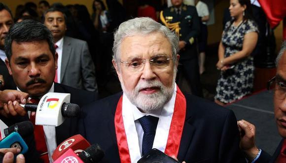 El presidente del Tribunal Constitucional, Ernesto Blume, es parte de la comisión especial que elegirá a los miembros del JNJ. (Foto: Difusión)