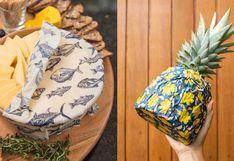 La alternativa al tóxico plástico film: envoltorios de cera de abeja para conservar nuestros alimentos