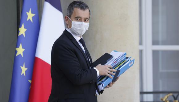 El ministro del Interior de Francia, Gérald Darmanin, adelantó que se vienen nuevas restricciones para frenar el coronavirus. (Foto: Ludovic MARIN / AFP).