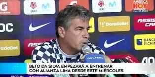 "Pablo Bengoechea: ""siento vergüenza ante la gente de Alianza Lima"""