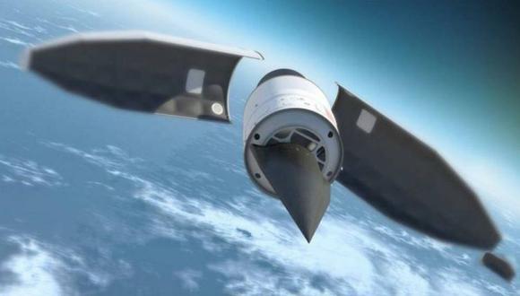 Vladimir Putin dijo que el vehículo hipersónico Avangard tiene alcance intercontinental y puede volar en la atmósfera a 20 veces la velocidad del sonido. (AFP).