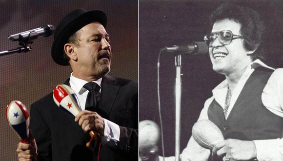 Rubén Blades y Héctor Lavoe. (Fotos: Agencias)