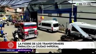 La 'fiebre de Transformers' se apodera de Cusco